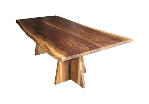 luca live edge dining table dering
