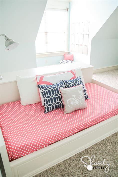 diy platform dresser bed shanty chic
