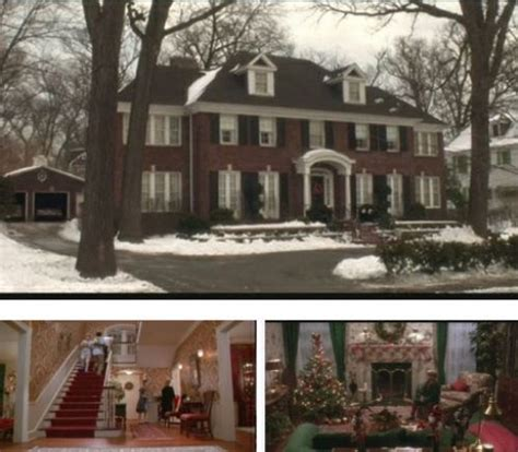 famous movie houses famous movie house home alone movies house inspiration