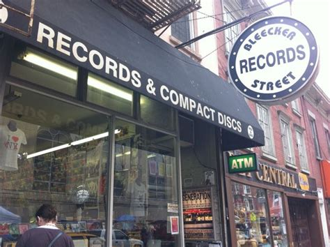 Records Nyc New York City Record Stores Bleecker Records Turntabling