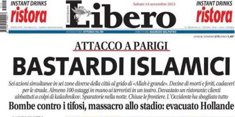 i titoli choc di libero termometro politico - Libero Quotidiano Italia