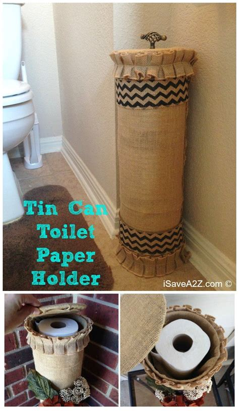 toilet paper holder ideas tin can toilet paper holder isavea2z com crafty 2 the