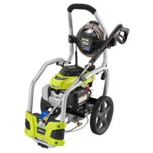 home depot power washer rental cost ryobi 3100 psi 2 5 gpm honda gas pressure washer with idle