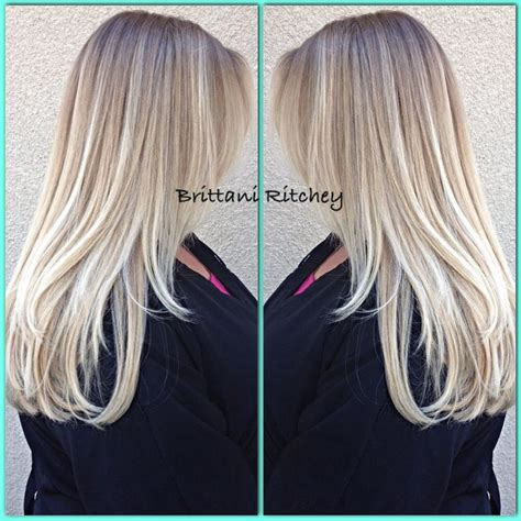 platinum blonde ombre hair icy cool platinum blonde ombr 233 blondes pinterest
