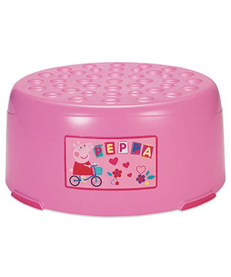 Peppa Pig Step Stool by Peppa Pig Step Stool Toilet Steps Mothercare