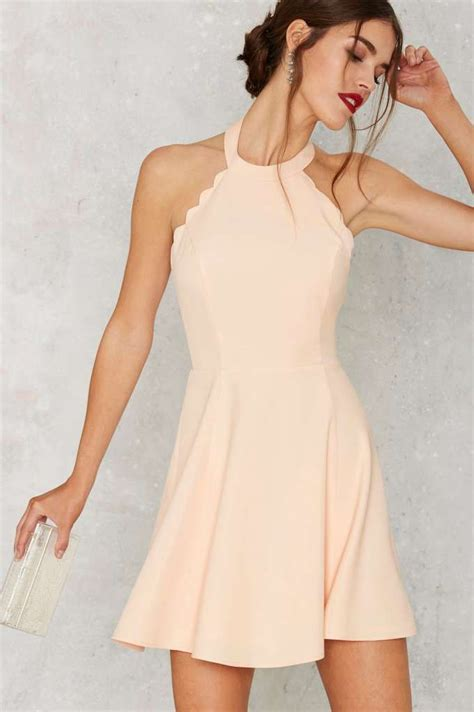 Scalop Pastel Dress by 17 Best Ideas About Flare Dress On Fit And