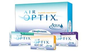 air optix contact lenses | groupon goods