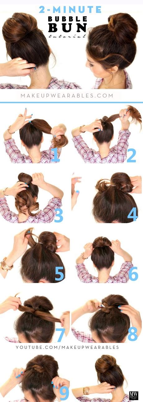 5 quick easy hairstyles for medium to long hair back to quick and easy hairstyles for medium hair