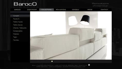 cr 233 ation du site boutique baroco mobilier