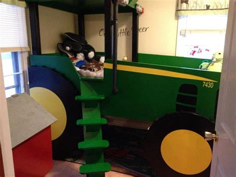 John Deer Bed For Christmas Beds Pinterest Tractor Bed Frame