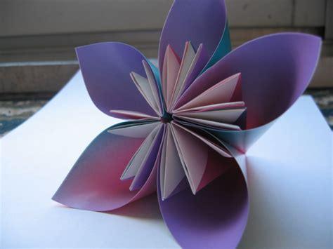 3d Origami Flower Pot - kusudama flower album 3d origami
