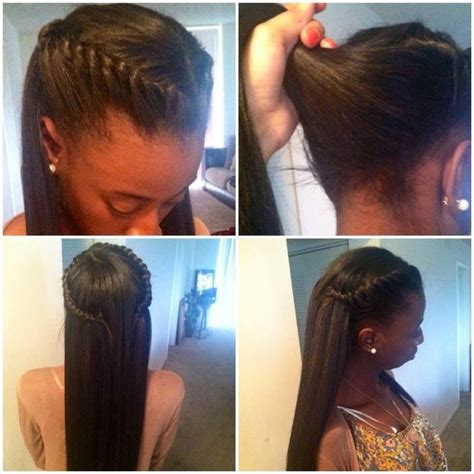 Hairstyles For Relaxed Hair Black Teenagers by Sew In Hairstyles For Newhairstylesformen2014