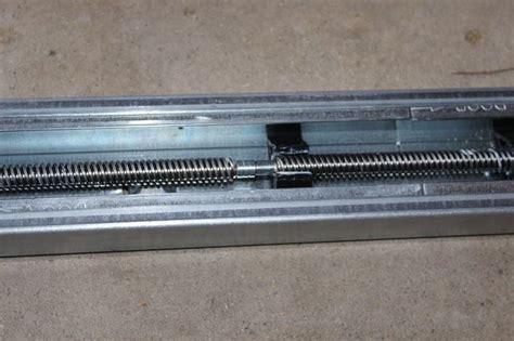 garage door screw drive
