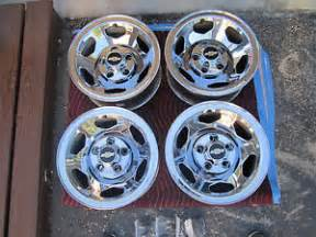 Chrome Ss Truck Wheels 039 88 98 Chevy 1500 Gmc 454 Ss Factory Chrome