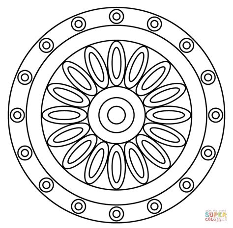 large print simple and easy mandalas coloring book for adults an easy coloring book of mandals for relaxation and stress relief coloring books for grownups volume 61 books mandala coloring pages easy coloring home