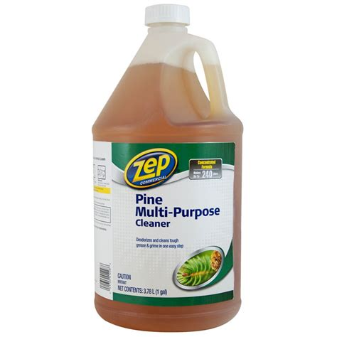 multi purpose zep commercial pine multi purpose cleaner 3 78 ml the