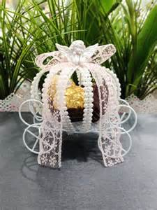 Princess Carriage Favors by Princess Carriage Cinderella Pumpkin Wedding Favor Box