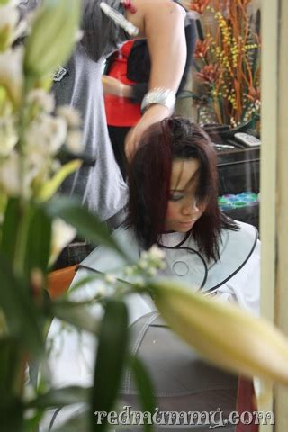 Mt Ikat Rambut New Haircut From Martha Tilaar Jakarta Pencinta Merah