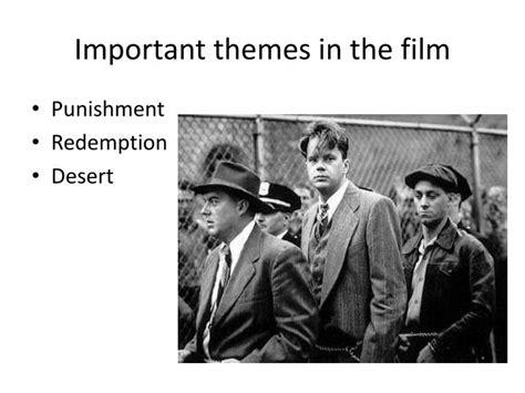 themes in shawshank redemption film ppt the shawshank redemption powerpoint presentation