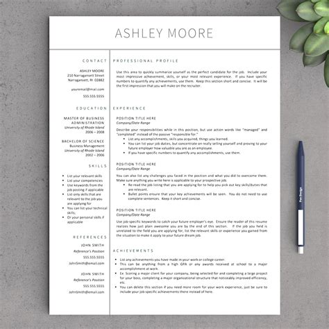 concise resume template sales strategies template