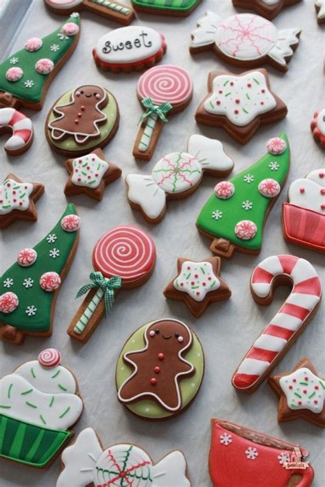 17 best ideas about decorated christmas cookies on