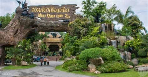 khao kheow open zoo klook
