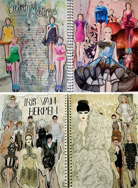 fashion design research book textiles and fashion design sketchbooks 20 inspirational