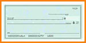10 blank check templates for microsoft word ledger paper