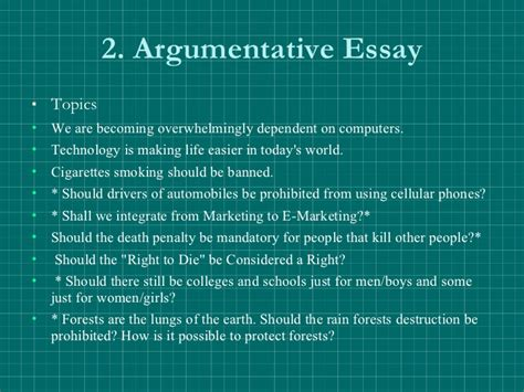 Argumentative Essay Technologies by Argumentative Essay Topics Technology Place An Order At
