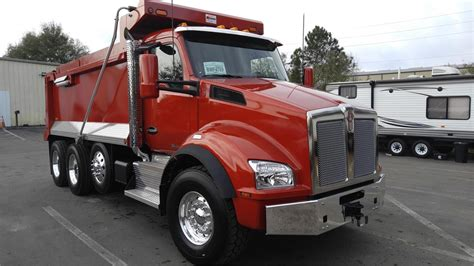 used kenworth trucks for sale in florida kenworth t880 dump trucks in florida for sale used trucks