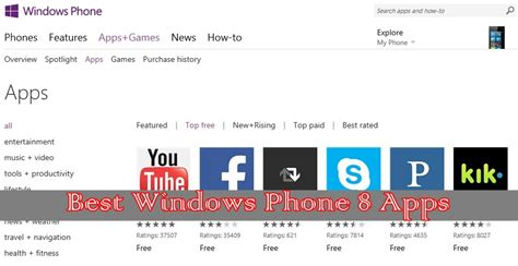 best for windows 8 free s 10 best top free windows phone 8 apps