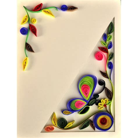best card made quilling greetings cards best wishes