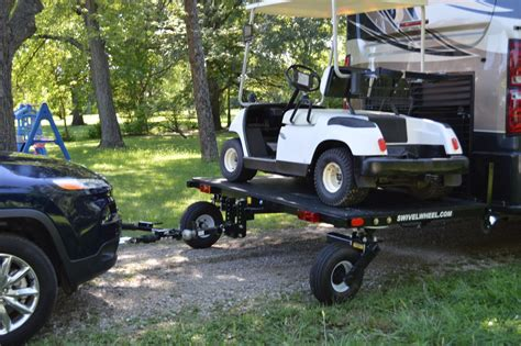 swivelwheel dw tandem tow dolly camping