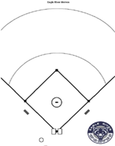 baseball diagrams and templates free printable drawing