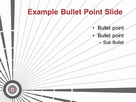 Target Powerpoint Template 2 Target Powerpoint Template