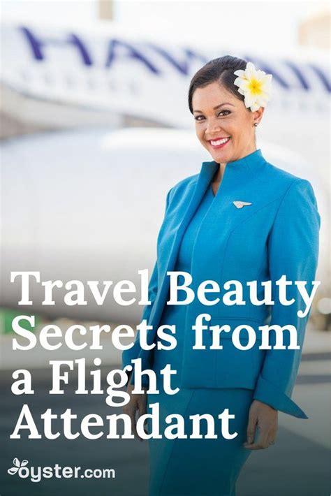 flight attendant wear bangs a flight attendant shares her top travel beauty secrets