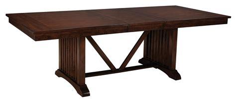 artisan loft warm medium oak rectangular extendable dining