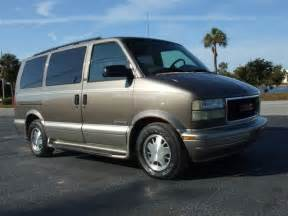 2000 gmc safari van