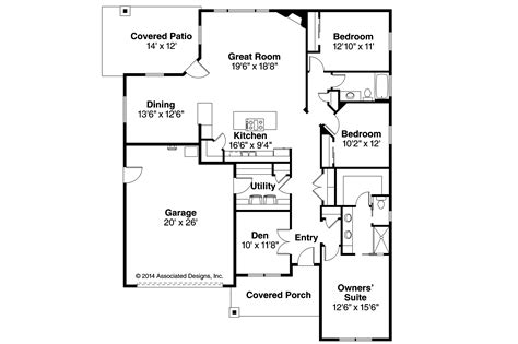 houses floor plan country house plans westfall 30 944 associated designs