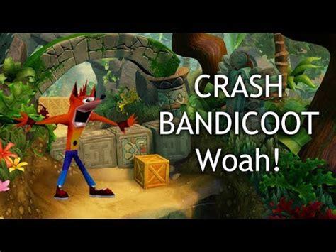 Crash Meme - crash bandicoot meme quot woah quot in crash bandicoot theme song