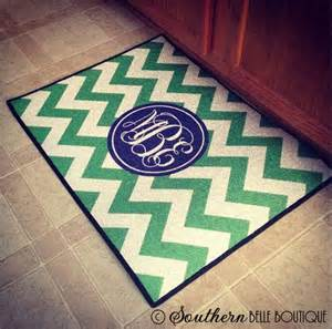 monogram rugs for outside personalized door mat