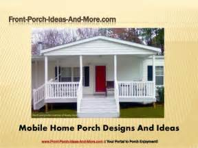 porch plans designs porch design ideas for mobile homes