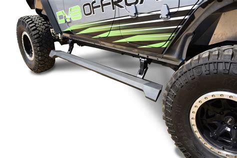 side steps for jeep wrangler unlimited 2014 dv8 offroad esjk 01 electric side steps for 07 17 jeep