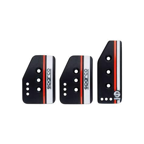 Cover Pedal Gas Sparco sparco settanta black pedal pads normal gas car parts car accessories shop by team