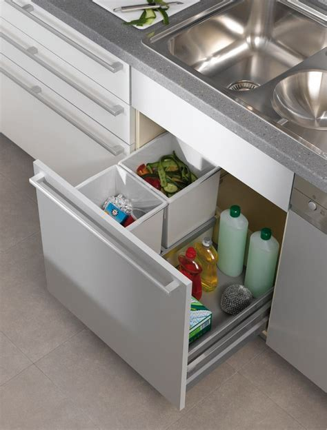 kitchen garbage can cabinet kitchen contemporary pull out trash can stainless steel
