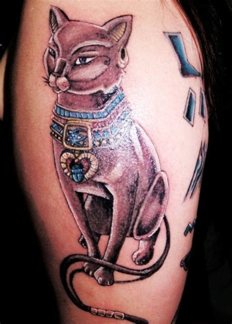 bastet tattoo designs top 25 best cat tattoos ideas on