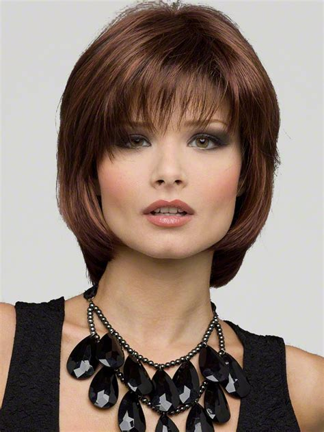 hair styles bob lo lites envy haley wig medium length classic bob with