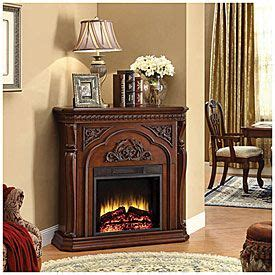 big lots corner fireplace 42 quot corner cherry fireplace at big lots for the home