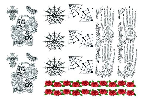 day of the dead temporary tattoos temporary tattoos for inspired by ben cousins such is
