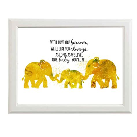 Nursery Wall Art Boys Nursery Art Boys Nursery Prints Elephant Nursery Wall Decor For Boys